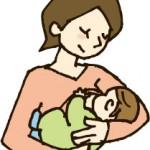 子供を抱く母