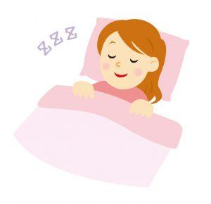 寝方とほうれい線